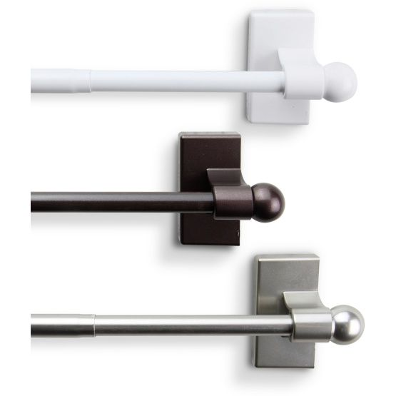 25 Best Ideas About Magnetic Curtain Rods On Pinterest Roman Shades For Doors Magnetic