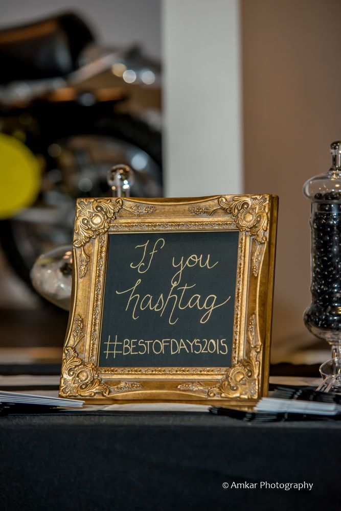 4 Ways to Get the Most Out of your #weddinghashtag | Photo by Amkar Photography