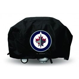 Winnipeg Jets NHL Economy Barbecue/BBQ Grill Cover