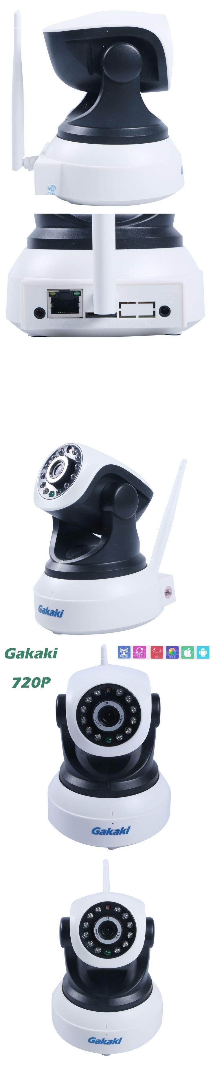 HD 720P IP Camera Wifi cam Mini CCTV P2P network Camera Micro TF Card Camerahome security camera system wireless