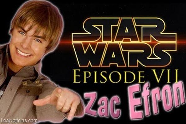 Zac Efron confirmado para Star Wars: Episode VII - http://www.leanoticias.com/2014/02/03/zac-efron-confirmado-para-star-wars-episode-vii/