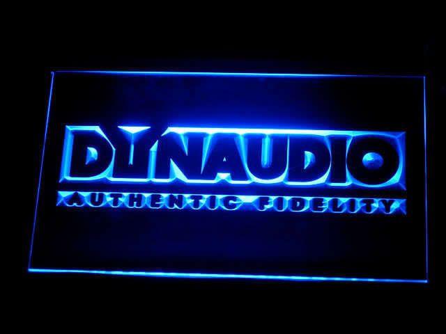 Dynaudio Authentic LED Sign www.shacksign.com