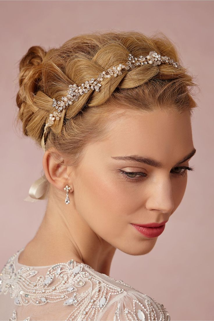 Pearl Petal Halo from BHLDN
