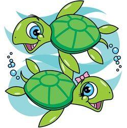 100582 Turtles Girl & Boy                                                                                                                                                                                 More
