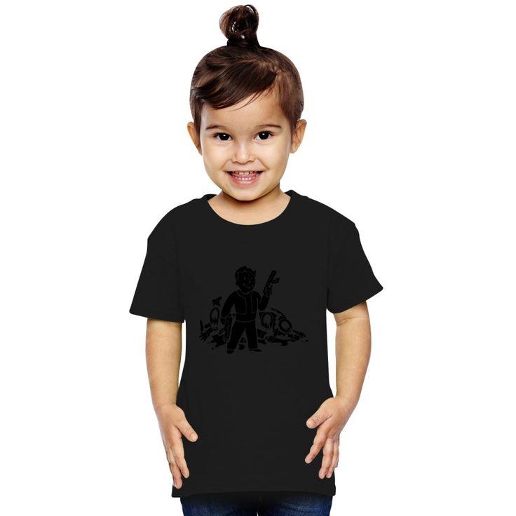 Fallout 3 Vault Boy Toddler T-shirt