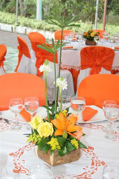 M s de 25 ideas incre bles sobre centros de mesa naranja for Decoracion hogar naranja