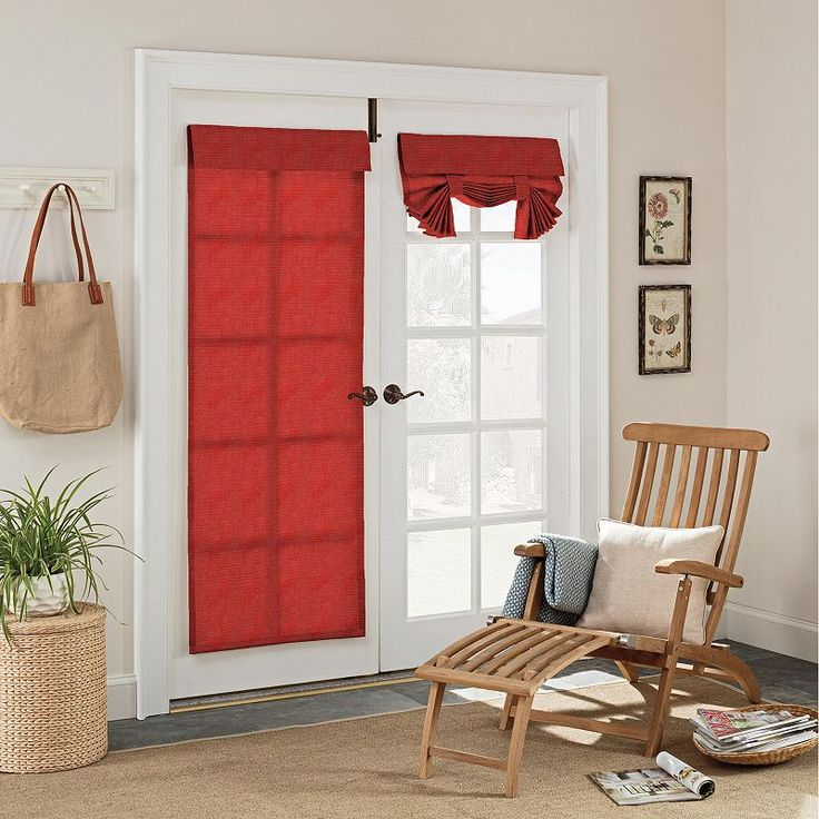 78 Ideas About French Door Curtains On Pinterest