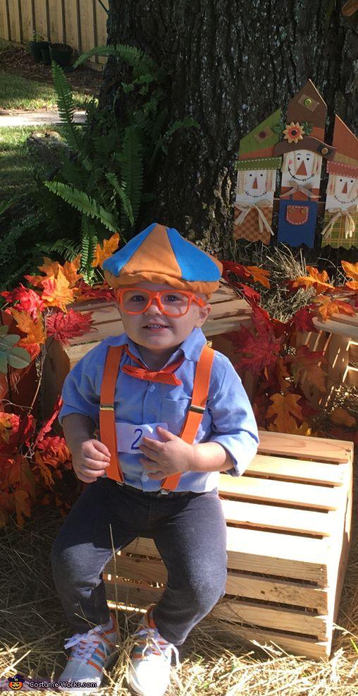 Blippi Halloween Costume Contest at