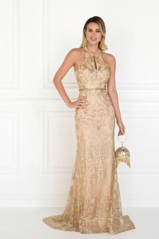 7e18a5ca78e7 Stunning gold sequins prom dress GLS 1547G-Simply Fab Dress ...