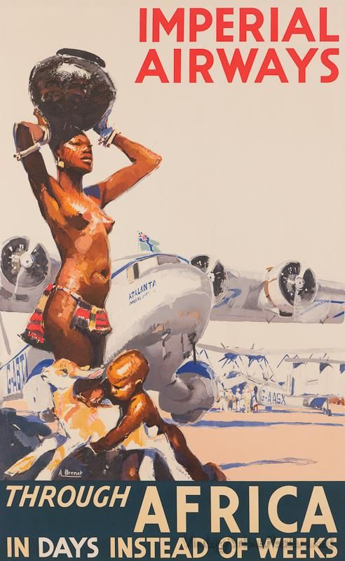 Imperial Airways through Africa