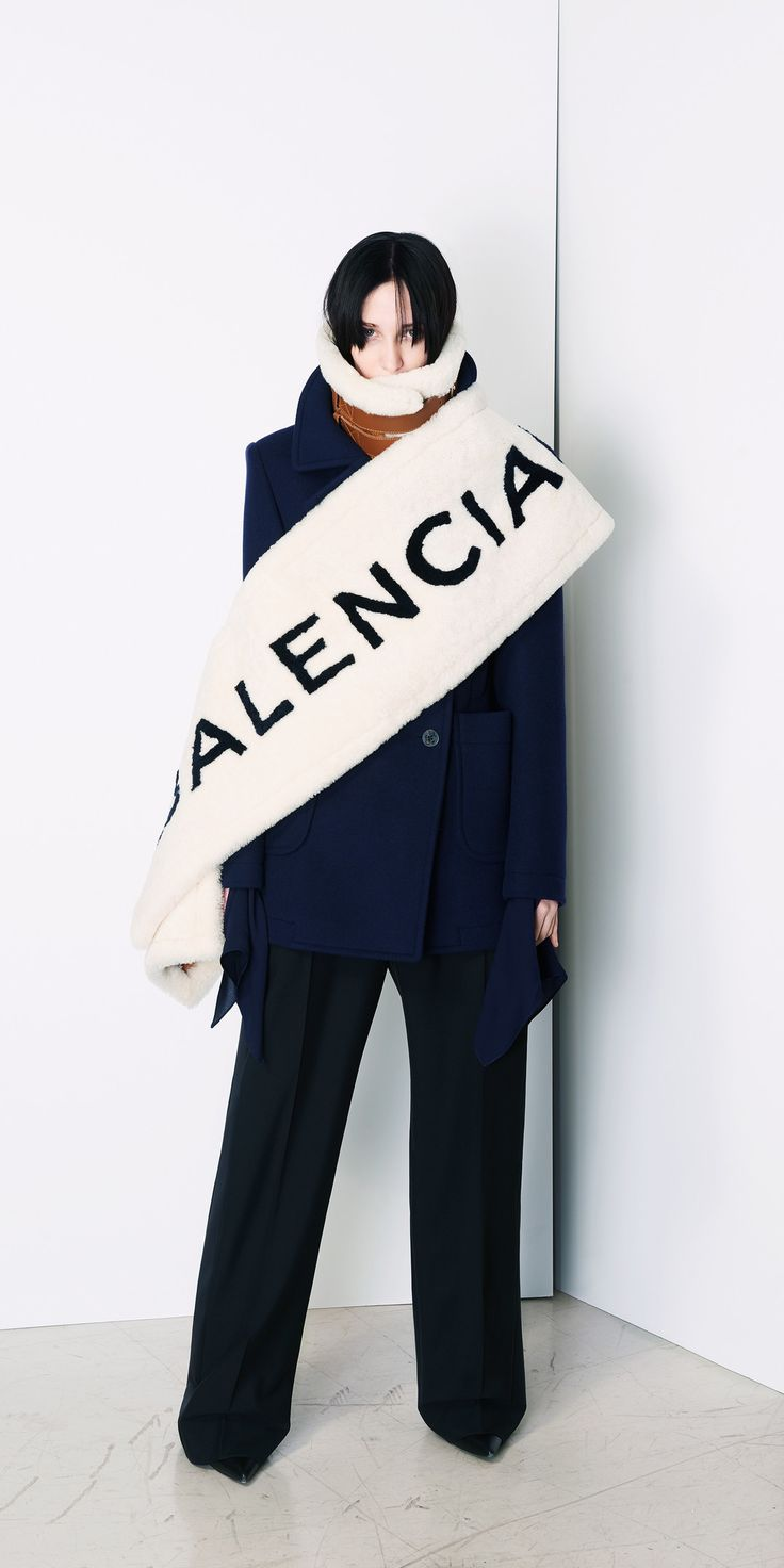 Image result for balenciaga scarf