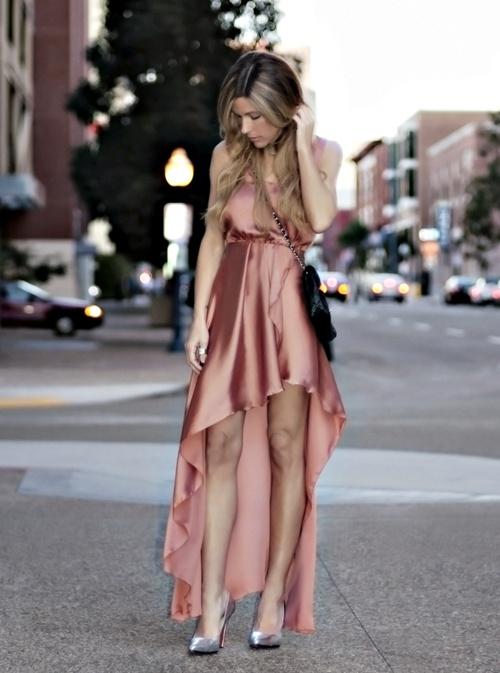 from tumblr #satin dress