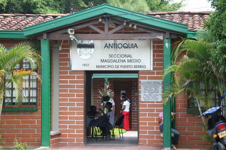 Seccional Magdalena Medio. Una de las primeras regiones en las que hice docencia a nivel regional.
