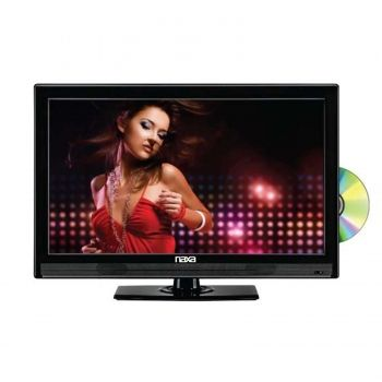 """Naxa 16"""" Widescreen HD LED Television with Built-In Digital TV Tuner & USB/SD Inputs & DVD Player - myaccessoryguy"""