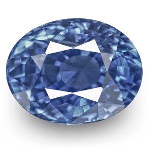 1.20-Carat VVS-Clarity Unheated Kashmir-Origin Sapphire (IGI)