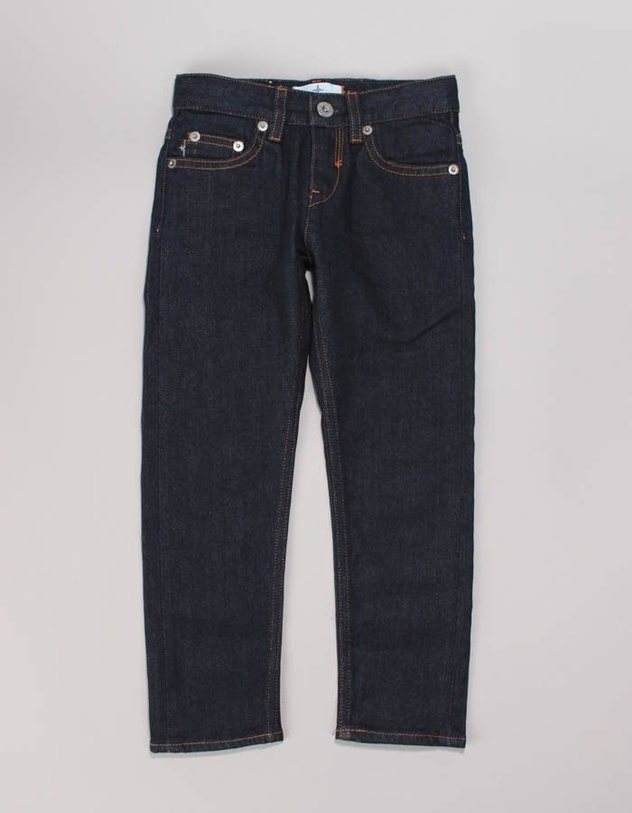 Stone Island Junior Unwashed 5 Pocket Denim Jeans | Accent Clothing