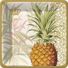 tropical+paper+napkins | Welcoming Pineapple 7 inch Paper Plates  sc 1 st  Pinterest & 97 best tropical party ware images on Pinterest | Tropical party ...