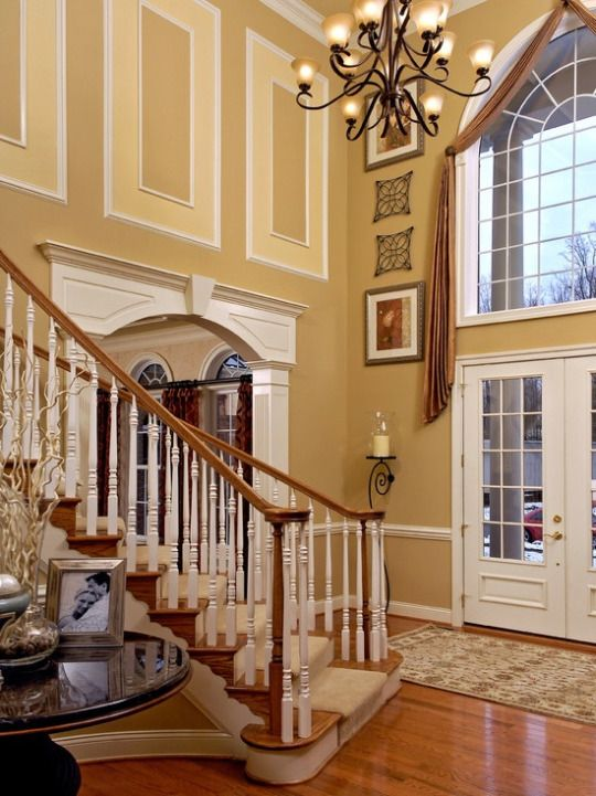 1000 images about foyers on pinterest 2 story foyer Foyer console decorating ideas