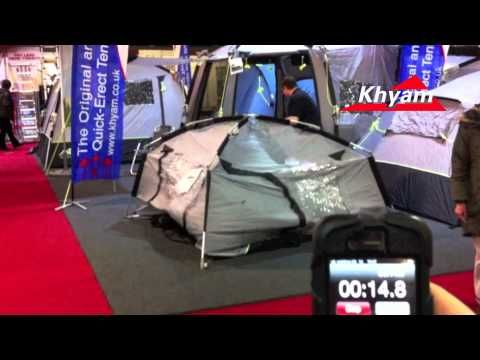 The Fastest Erecting Driveaway Awning On Market Erected In 22 Seconds At Caravan And Motorhome Show