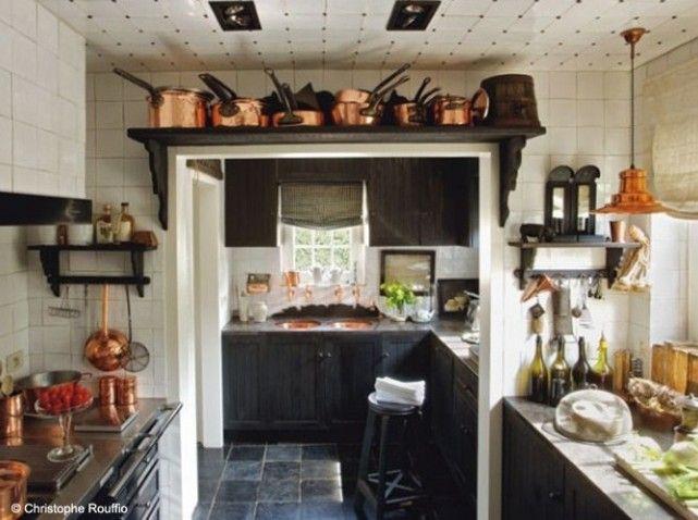 дизайн кухни в деревенском стиле (17)