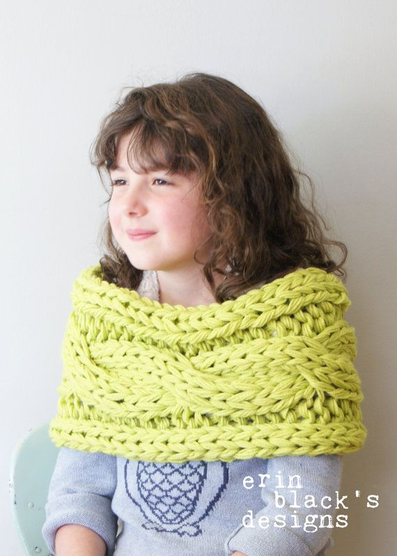 DIY Knitting PATTERN Chunky Knit Twisted by ErinBlacksDesigns