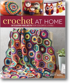 Get 25 small and quick crochet projects from top designers to add color and cheer to your home!