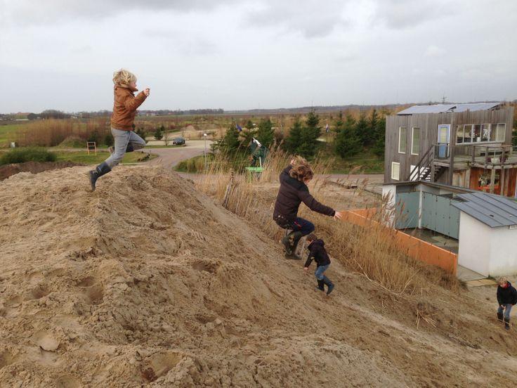 springen van de duinen