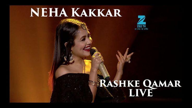 Neha Kakkar Rashke Qamar Live Riya Saregamapa Lil Champs Youtube Songs Bollywood Music Videos Neha Kakkar