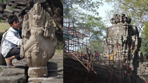 Banteay Chhmar in Camboya