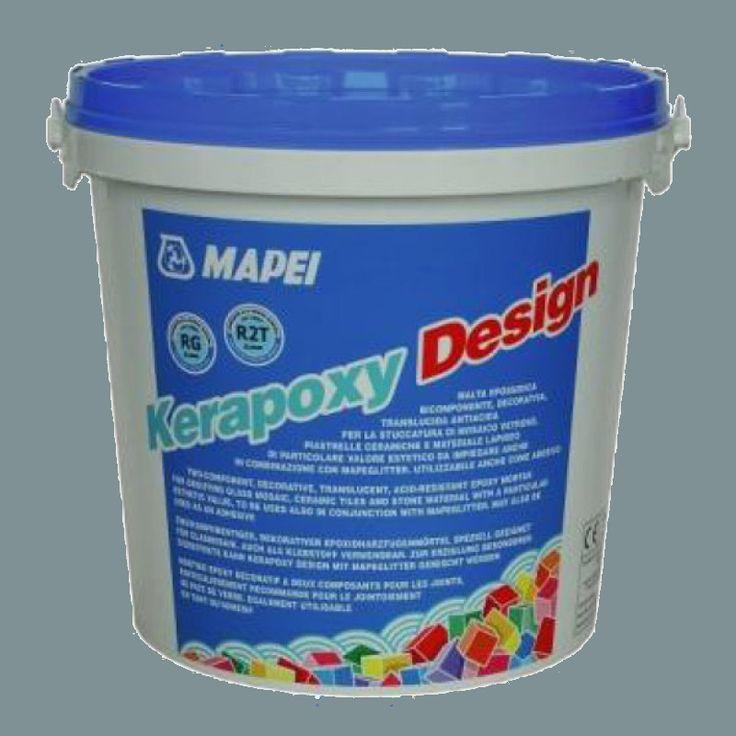 Kerapoxy Design Pearl Grey 720 Grout 3kg