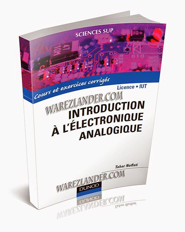 Télécharger Gratuitement : Introduction à l'électronique analogique ~ Cours D'Electromécanique