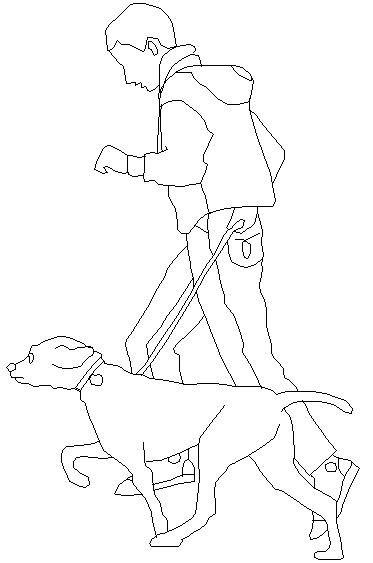 Dwg Adı : Köpekli adam çizimi  İndirme Linki : http://www.dwgindir.com/puanli/puanli-2-boyutlu-dwgler/puanli-insan-ve-hayvanlar/kopekli-adam-cizimi.html