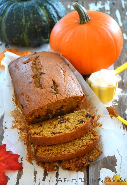The Best Ever Pumpkin Spice Bread!