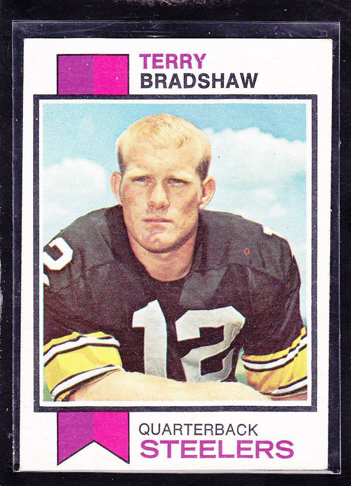 Details about 1973 TERRY BRADSHAW Topps Football Card