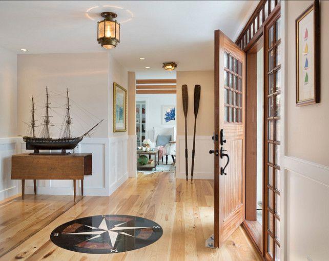 Nautical Foyer Ideas : Best ideas about coastal entryway on pinterest