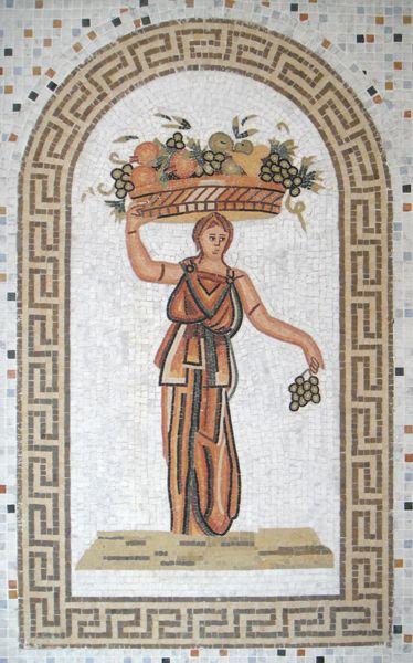 Les 25 meilleures id es de la cat gorie mosa ques romaines for Decoration romaine