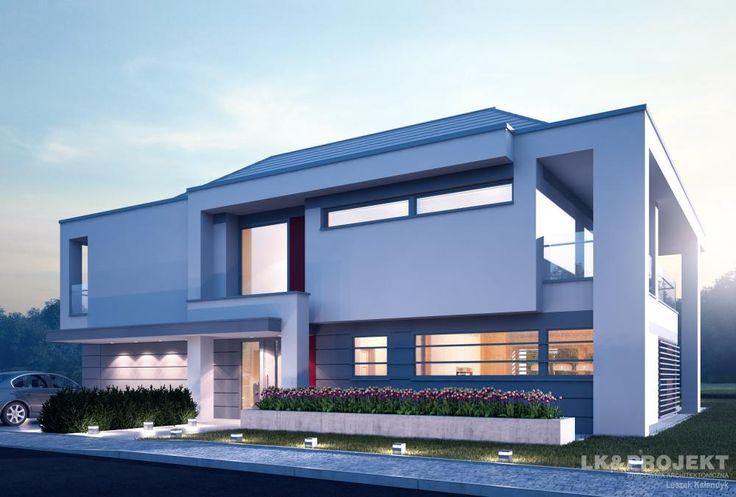 Projekty domów LK Projekt LK&1220 zdjęcie wiodące