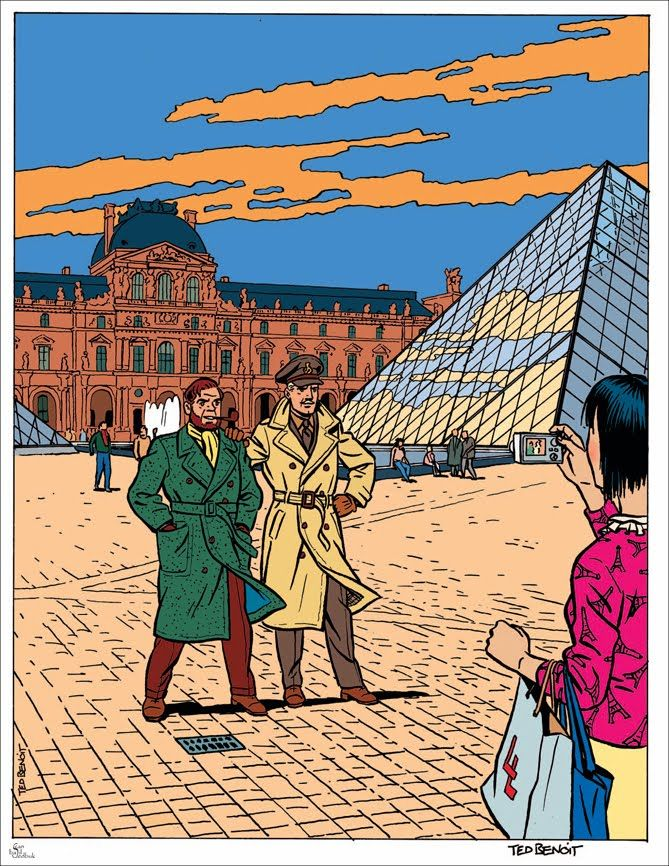 Cloud 109: La Ligne Claire - Edgar P. Jacobs and the Spawn of Herge