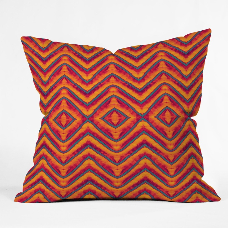 Modern Pillow And Throws : Wagner Campelo Sanchezia 1 Throw Pillow