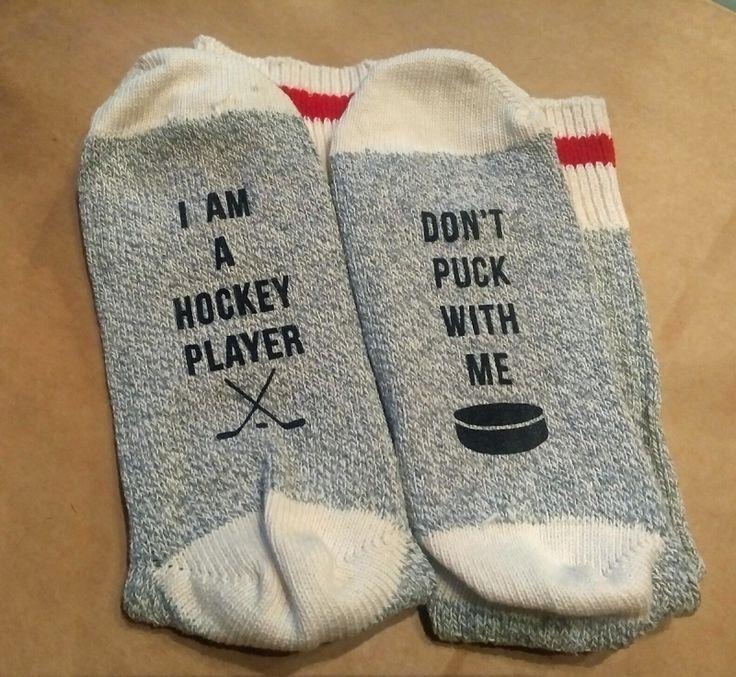 I am a Hockey Player Unisex Cotton Socks