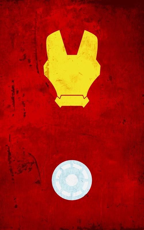 Not Found Minimalist Poster Superhero And Iron Man