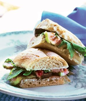 Fig, Ham and Cheese Sammies