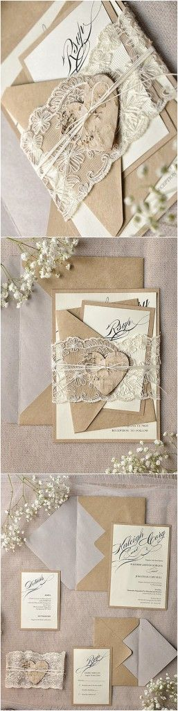 rustic wedding invitation 7
