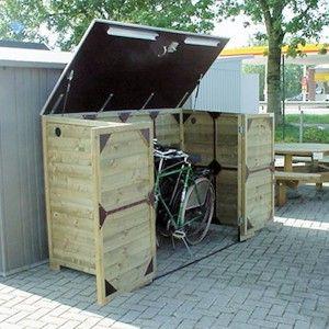 fietsberging 203D voor gewone en elektrische fiets
