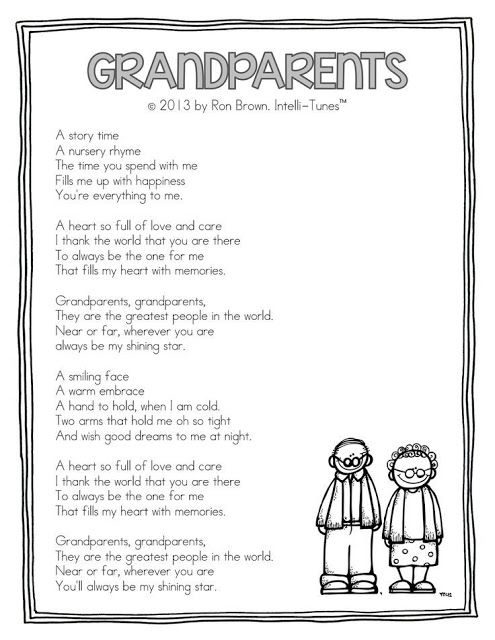 Happy Grandparents Day poems for Kids 2016: