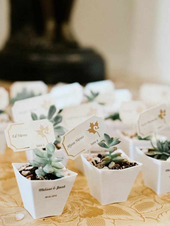 Chic, Old-School Inspired Florida Wedding Captured by Merari Photography - wedding favors