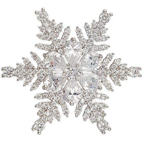 3abd0114066 Discover ideas about Brooch Bouquets. Christmas Crystal Snowflake Brooch PIN  ...