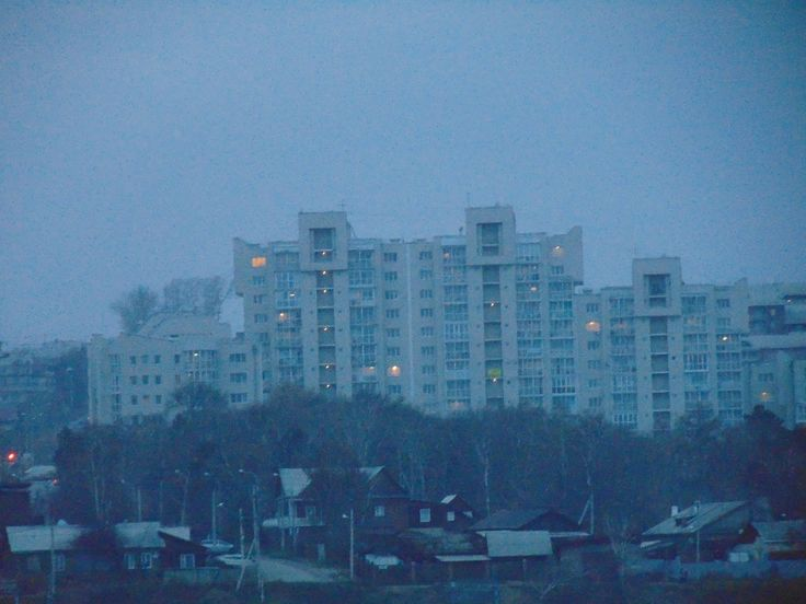#snow #cool #beauty #town #city #urban #evening #Russia #Irkutsk #Siberia #Иркутск #Россия #Сибирь #снег #дом #город #берег #Ангара #сумерки #вечер #атмосфера
