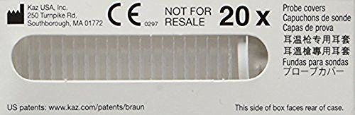 Braun Thermoscan Lens Filters Covers X 20 Pc20 - Genuine braun product - fits all thermoscan thermometers pc20's are the same as lf20's the letters only refer to the packaging design. A pc20 fits in the holder in the thermometer case