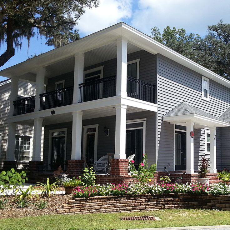 White Brick House Exterior Siding Colors